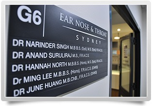 Ear Nose and Throat Sydney Offices